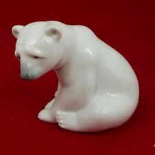 More details for lladro seated polar bear 1209