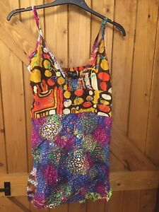 Gringo S/M Strappy Top Summer Holiday Festival Ladies Bnwot New