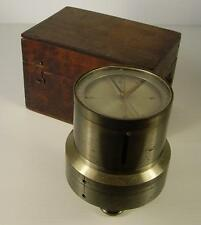 Antiker seltener Vermessungs Kompass im Etui um 1900