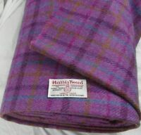Harris Tweed Fabric & labels 100% wool Craft Material - various Sizes code0515pc