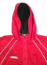 Xara Hooded Nylon Fleece Soccer Jacket, Men's Large