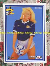 SCOZIA Miriam Axa - Guerin Mundial 1986 - postcard - cartolina soccer calcio