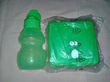 Tupperware Kindergarten Set 350 ml & Brotdose Frosch Set grün Neu