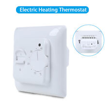Electric Floor Heating Thermostat Temperature Control Switch IP20 High Quality