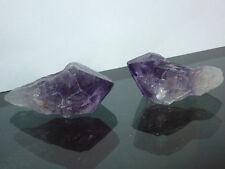 cristalloterapia PUNTA AMETISTA URUGUAY drusa A++ pietra naturale minerale bio