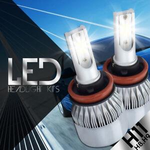 CREE LED H11 H9 H8 80W 8000LM Bulb Headlight Kit Light 6000K High Power 2016