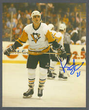Kevin Stevens signed Penquins color 8 x 10 photo
