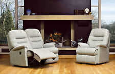 Sherborne Keswick  2 seater recliner suite.2 seater settee + 1 chair + recliner.