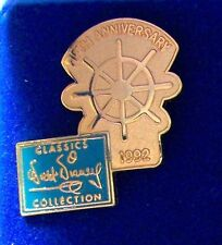 Disney Pin Walt Disney Classics Collection WDCC Fifth Anniversary Ship's Wheel