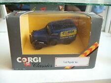 Corgi Ford Popular Van Collector Club 1989 in Blue in Box on 1:43