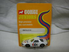CORGI JUNIOR VERY RARE FIAT X19 # 86 MINT ON CARD