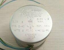 Aw Haydon K44111 P1 Stepper Motor 0 To 53 13 Rpm 6v 6 Wire 2 Phase