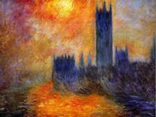 Claude Monet Blue Art Posters