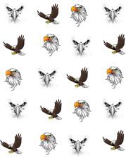 Bald Eagle Waterslide Nail Decals/Nail Art