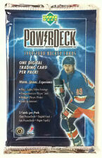 1999-2000 Upper Deck Power Deck Hockey Pack 3 Cards(1 Digital) Factory Sealed