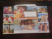 Spain Letter Sheet Postal Stationery Unused Fisherman's Return Jcstg w54