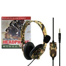 Gaming Headset for Sony PS4, XBOX ONE - Camouflage Yellow