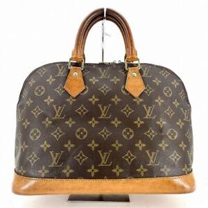 Louis Vuitton Alma Handbags Monogram M51130 from Japan #DW308-369