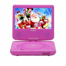 Alba 7 Inch Portable DVD Player - Pink T-701 Rf2228