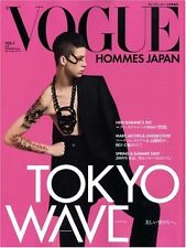 Vogue Hommes Japan Magazine Book Vol.1 2008 HEDI SLIMANE MARC RARE TOKYO WAVE