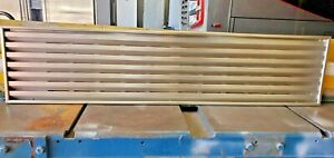 """SUB-ZERO used part SS4811 48""""x11"""" top stainless grill 600 & 500 series $430 list"""