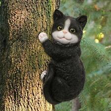 New listing Limeide Cat Tree Hugger Tree Garden Peeker Polyresin Outdoor Tree Sculpture - Gi