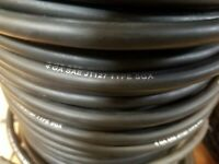 4 AWG SGX BLACK AUTOMOTIVE 125c HIGH TEMP MADE IN USA -25 FT BATTERY CABLE