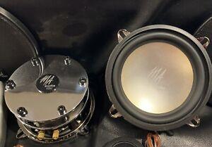 "MA Audio NOS 5.25"" MA 525c Component Speaker System. New! NIB Old School Set!"