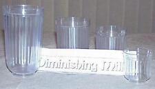 Diminishing Milk Glasses --classic Multum in Parvo visible milk reduction   TMGS