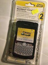 BlackBerry Curve 8300,8310,8320,8330 OtterBox Impact Case Black RBB1-08300-20-C5