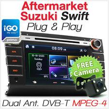 Suzuki Swift Car DVD Player GPS TV DVB-T MPEG-4 Head Unit Stereo Radio System TU