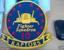 "Battlestar Galactica - Raptors Fighter Squadron 10"" Patch - LGBSG07"