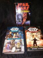 Star Wars Book Lot Hardcover