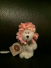 Boyds Bears Rare Retired Spring Flower Ornament Zinnia