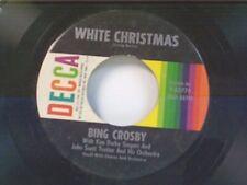 "BING CROSBY ""WHITE CHRISTMAS / GOD REST YE MERRY GENTLEMAN"" 45"