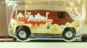 Hot Wheels Led Zeppelin Super Van Real Riders Combine Shipping