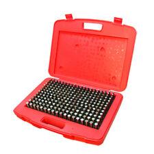 250 Pc M2 251 0500 Steel Plug Pin Gage Set Minus Plus Pin Gauges Metal Gage