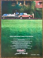 1985 GMC S-15 Truck Print Ad Others Could Pickup a Thng or Two From You