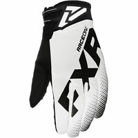 FXR Cold Stop Race Snowmobile Glove White Black