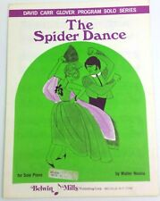THE SPIDER DANCE Solo Piano Sheet Music from 1968 by Walter Noona - Belwin Mills