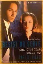 Resist Or Serve The Official Guide to The X-Files Volume 4 Softcover