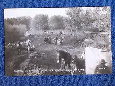 Cumberland RI/Men-Horses Grading Approach to New Howard Bridge/Oct 3 1912/RPPC/1