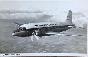 Postcard Vickers Viking