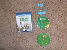 TED UNRATED movie BLU-RAY DVD video TARGET EXCLUSIVE BONUS DISC