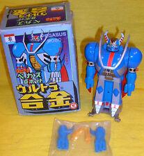 PEGAS TEKKAMAN NAKAJIMA TOY ROBOT Dx DIE CAST METAL FIGURE JAPAN vintage '70 BOX