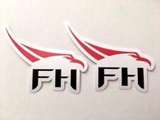 2x SpaceX Falcon Heavy Logo Car Bumper Laptop Phone Vinyl Die Cut Sticker Decal