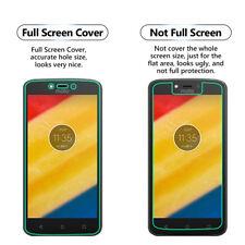 2x Schermo Intero Viso CURVO TPU Cover protezione schermo per Motorola Moto C PLUS
