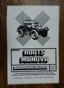 Badmeaninggood VOL 2 Roots Manuva Mega Rare Banksy Promo Sticker!!