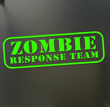 Zombie walking dead sticker JDM response team car window