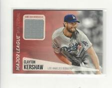 2019 Topps Major League Materials Clayton Kershaw JERSEY Dodgers